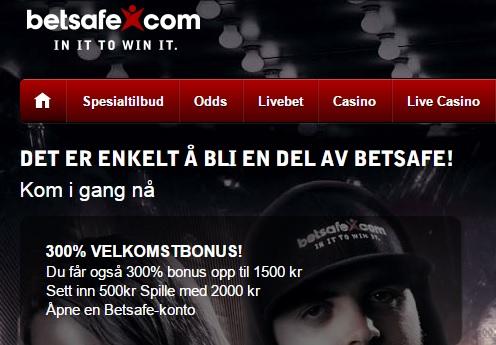 Casino Betsafe bonuskode 2015