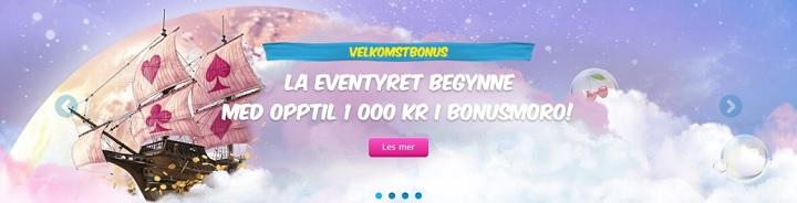 Ny casinobonus fra VeraJohn i Norge