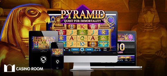 free spins Pyramid: Quest for Immortality