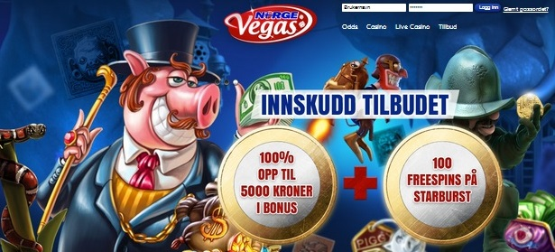 Norge Vegas free spins